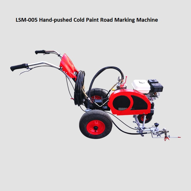 Cold Paint and Cold Plastic Road Marking Machines